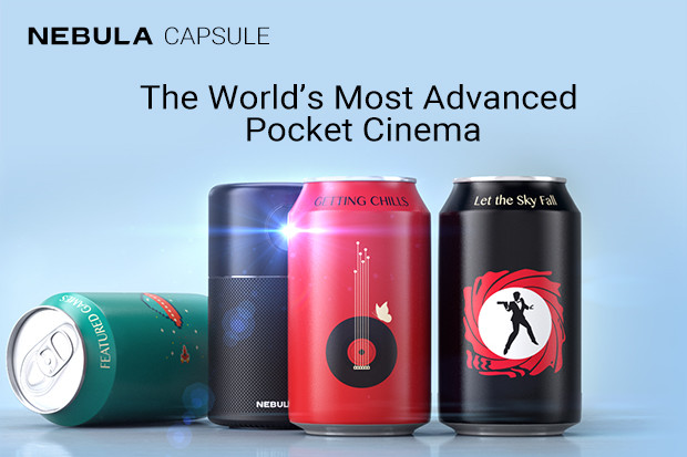 Capsule: The World's Most Advanced Pocket Cinema