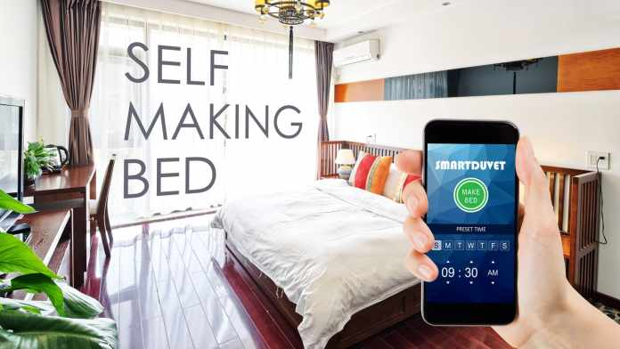 Control Your Bed Temperature With The Awesome Smart Duvet