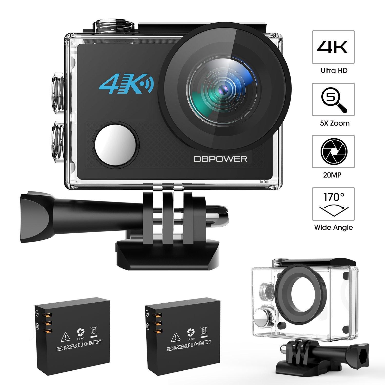 DBPower N5 4k Action camera Techniblogic
