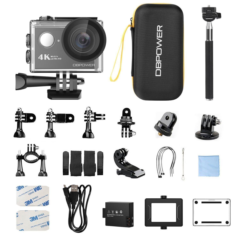 Db Power A4k Action Camera Box content Techniblogic