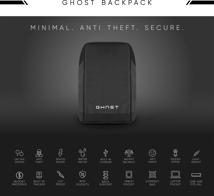 GHOST: The World's Most Advanced Smart Backpack ...