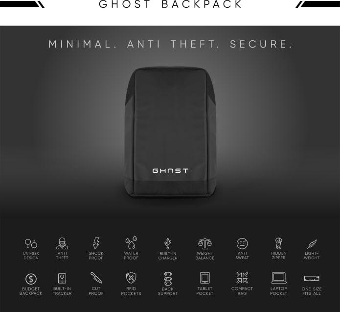 GHOST Smart Backpack