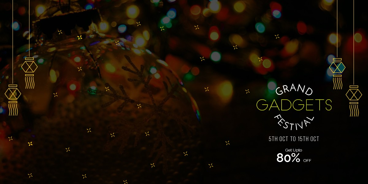 'Grand Gadgets Festival' this festive season