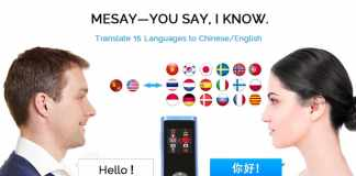 Speak 20 Kinds of Languages in 2 Second with Mesay