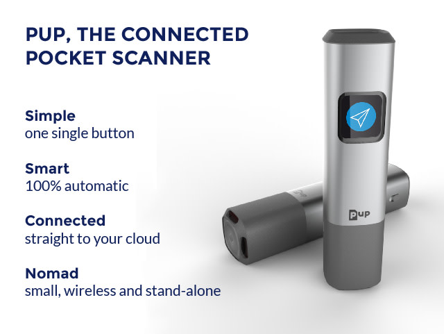 Scan Made Fast and Easy with Pup Pocket Scanner