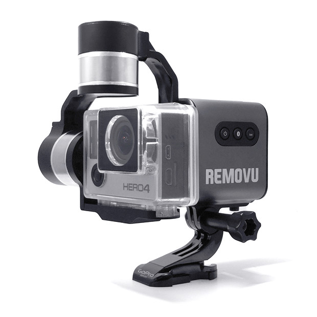 REMOVU S1 - Smartest Gimbal Stabilizer for GoPro