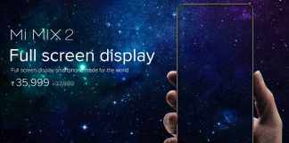 Xiaomi Mi MIX 2 With Bezel-Less Display Launched in India