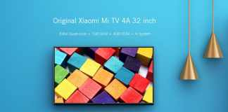 Xiaomi Mi TV 4A with 32 inch 720p screen
