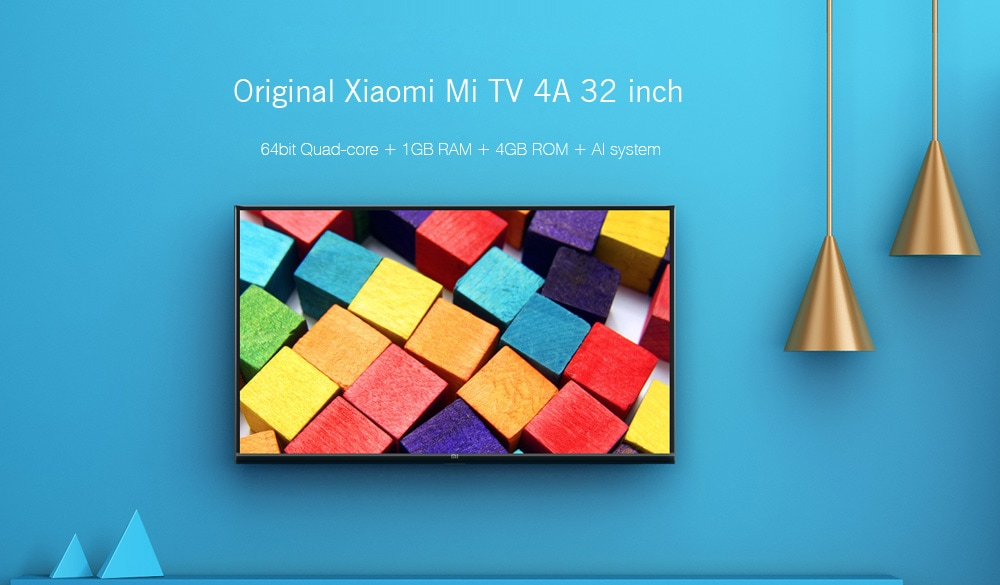 Xiaomi Mi TV 4A with 32 inch 720p screen