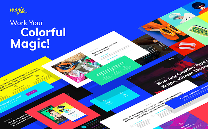 Strikingly-colored Selection of 15 Best Parallax WordPress Themes 15