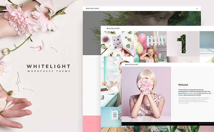 Strikingly-colored Selection of 15 Best Parallax WordPress Themes 6
