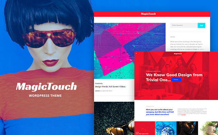 Strikingly-colored Selection of 15 Best Parallax WordPress Themes 8