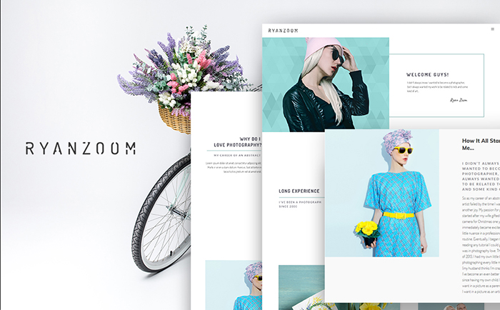Strikingly-colored Selection of 15 Best Parallax WordPress Themes 4
