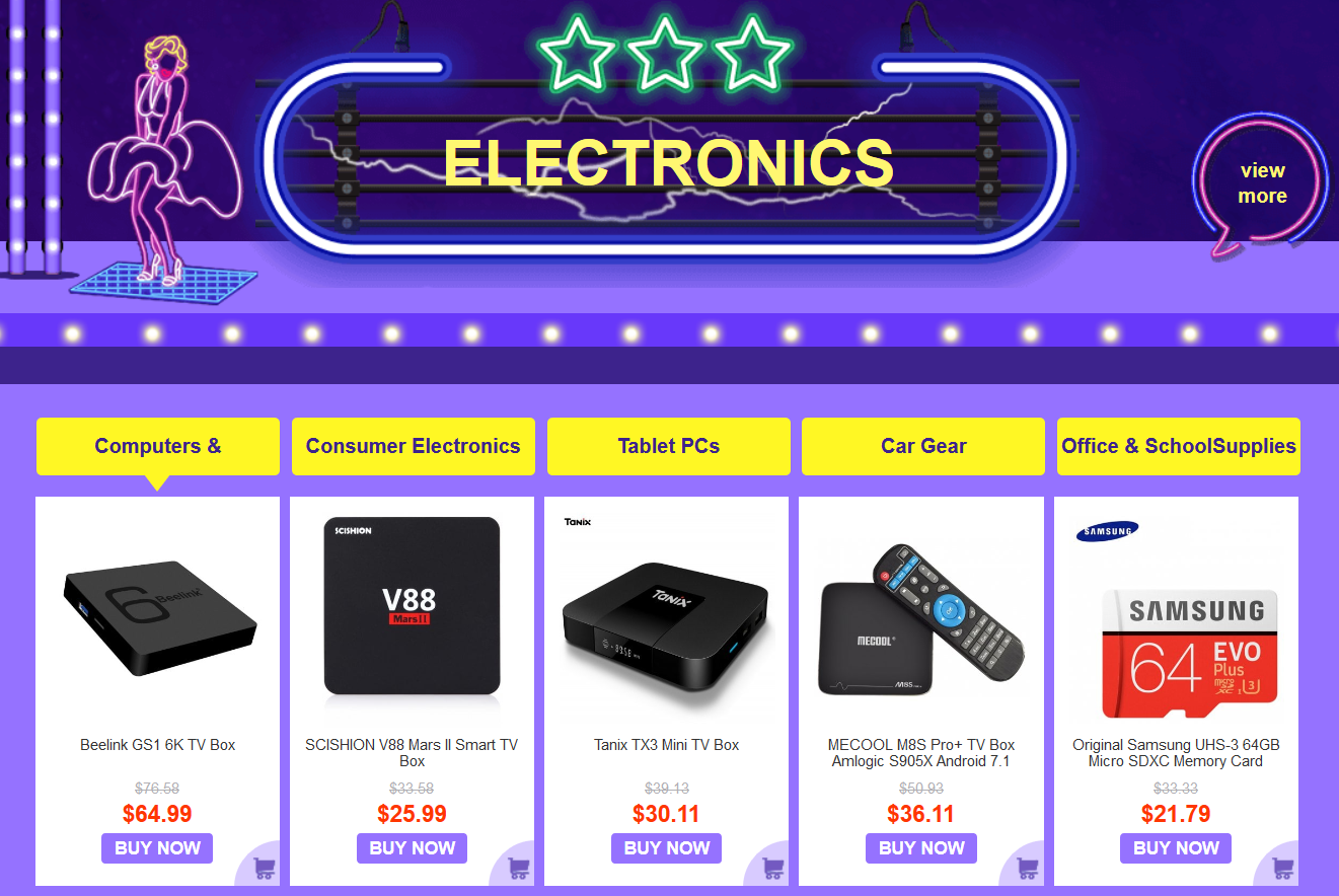 Gearbest China Black Friday Sale Electronics