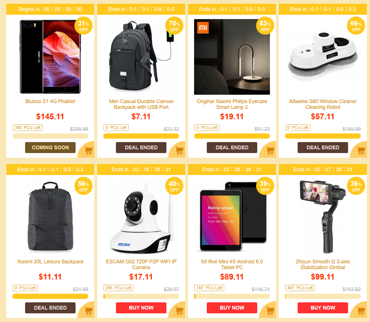 Gearbest China Black Friday Sale deals