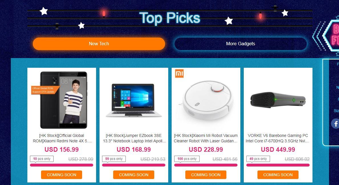 Handpicked Geekbuying Best Deals