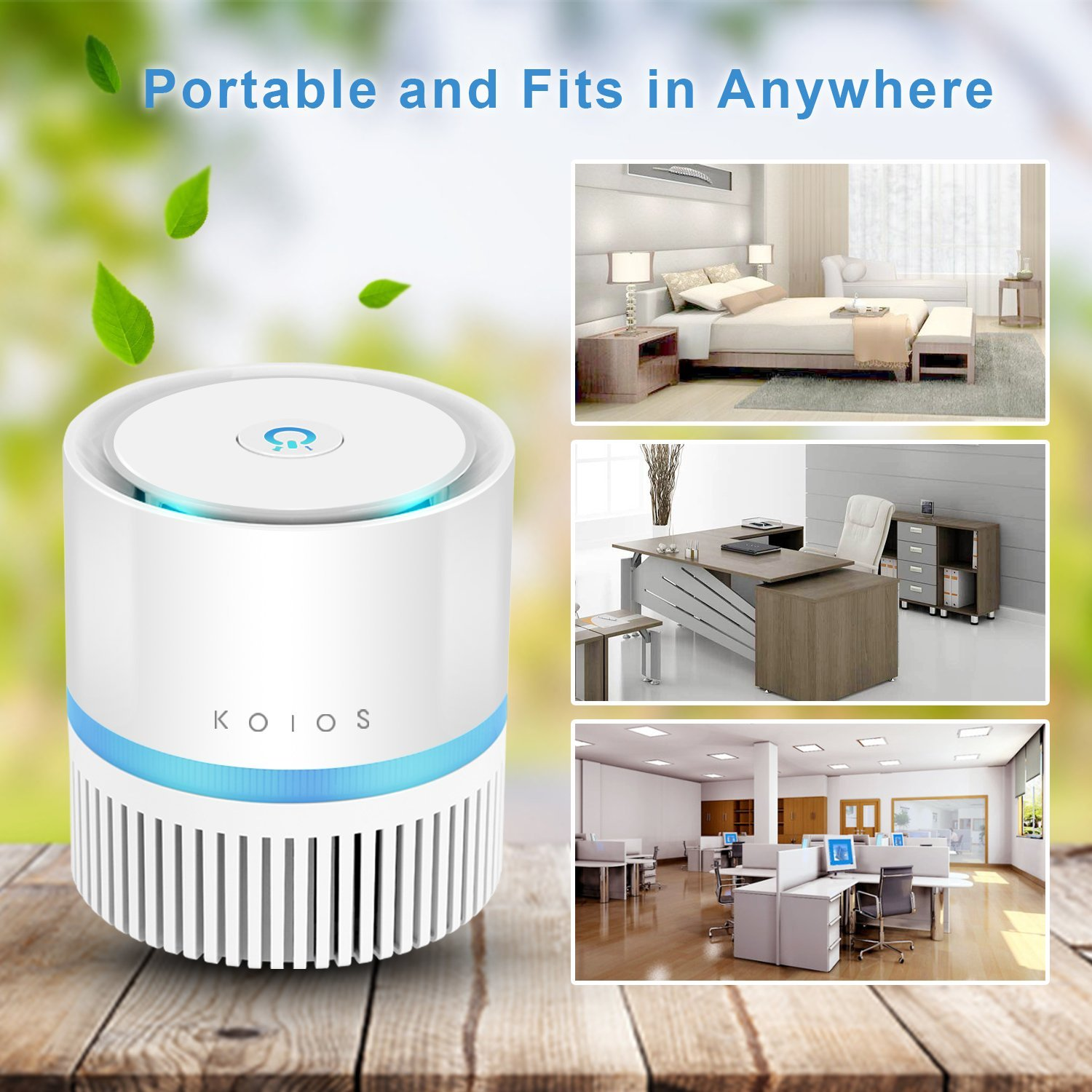 Koios Desktop Air Purifier