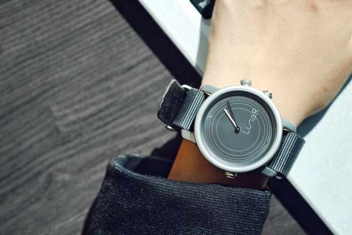 Lunar - World's First Solar Powered Smartwatch