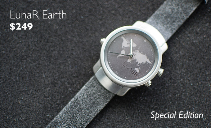 Lunar A Solar Powered Smartwatch