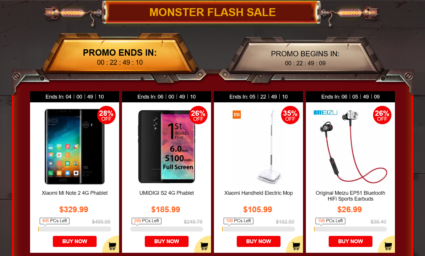 Get Flat $50 Off on Gearbest Black Friday Sale 2017 1