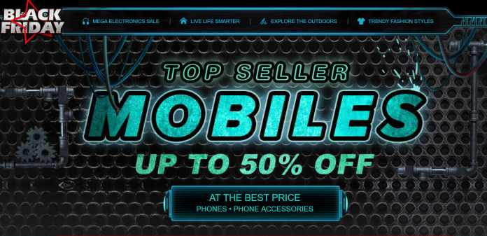 Up to 50% Off on MOBILES at Gearbest Black Friday Sale 2017