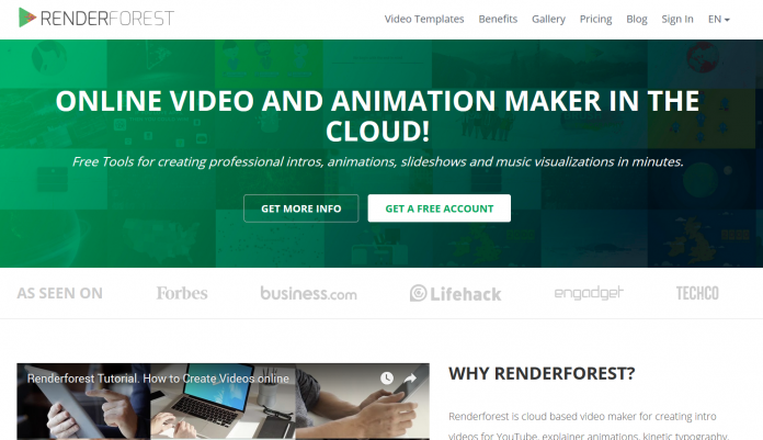 renderforest best online video and animation maker
