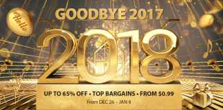 Gearbest Goodbye 2017 New Year 2018 Flash Sale from $0 99 - GearBest com