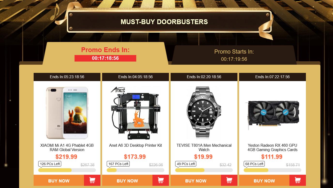 Gearbest Goodbye 2017 New Year 2018 Flash Sale from $0 99 - GearBest com