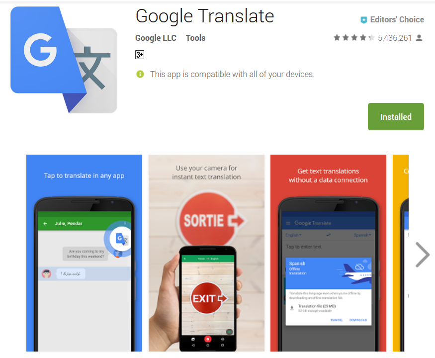 Screenshot-2018-1-27 Google Translate - Android Apps on Google Play