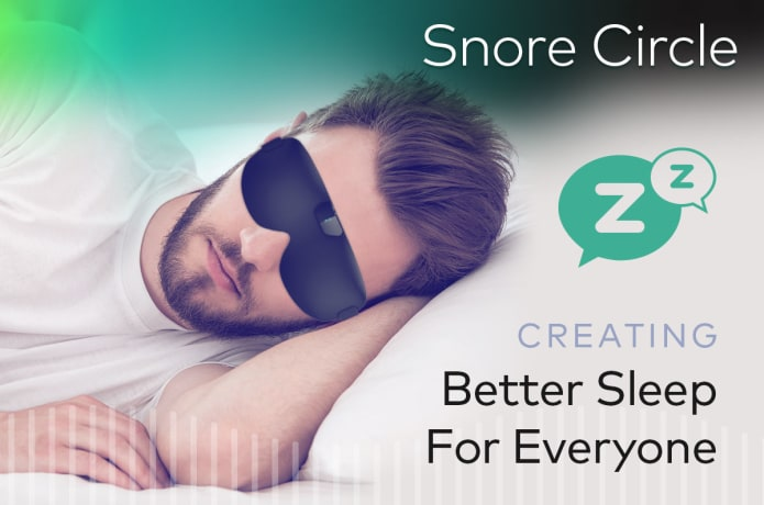 Snore Circle - Smart Anti-Snoring Eye Mask