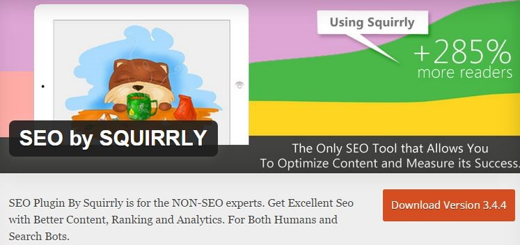 SEO by SQUIRRLY-Content Optimization