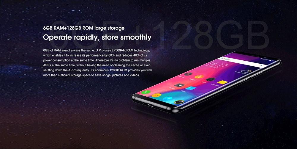 elephone u pro smartphone on gearbest