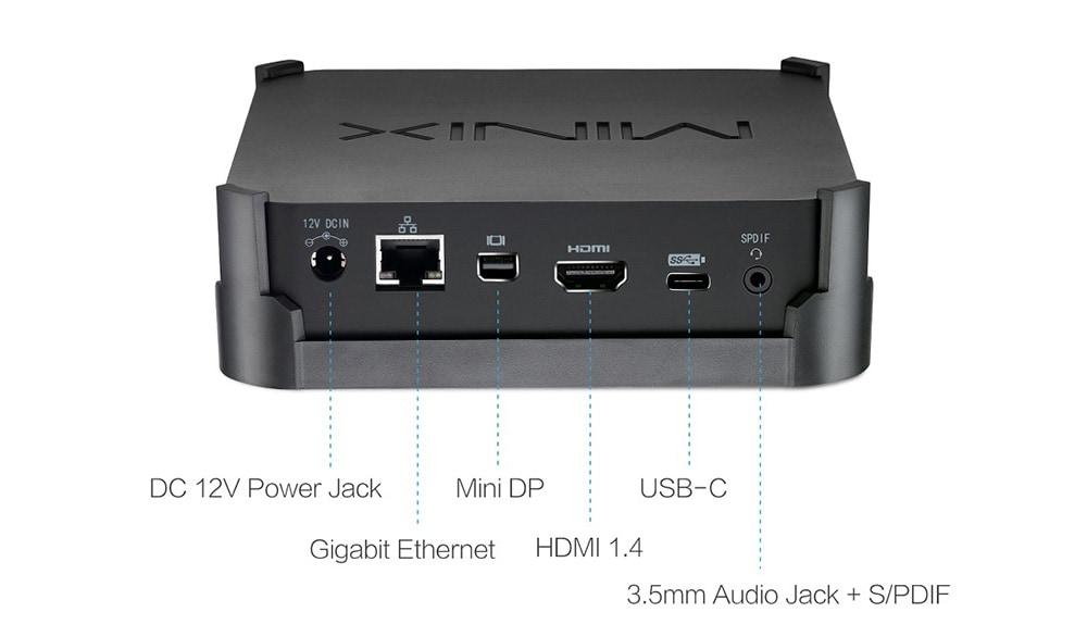 minix neo neo n42c ports