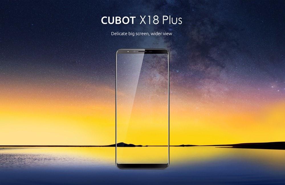 cubot X18 plus plablet