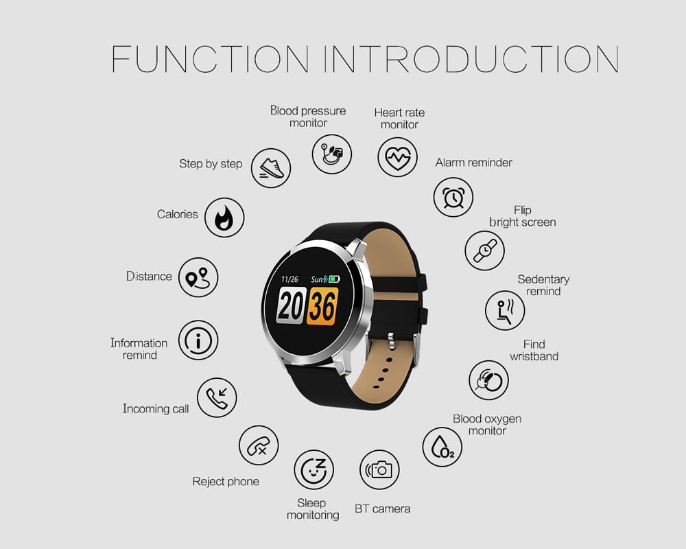 Newwear q8 smartwatch gearbest