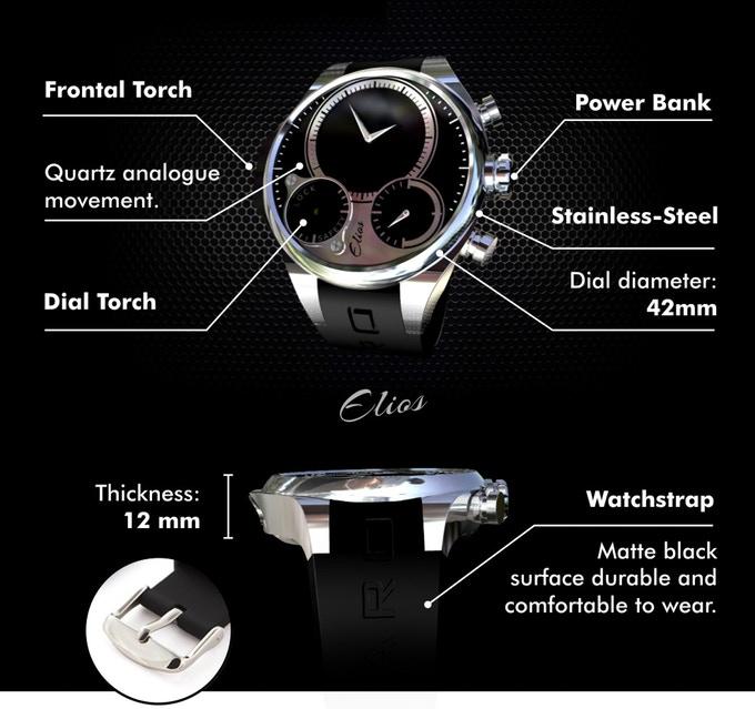 Bovaro - Wristwatch Power Bank