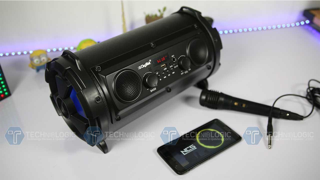 Digitek Bluetooth Speaker DBS 011 Review : The Beast you ...