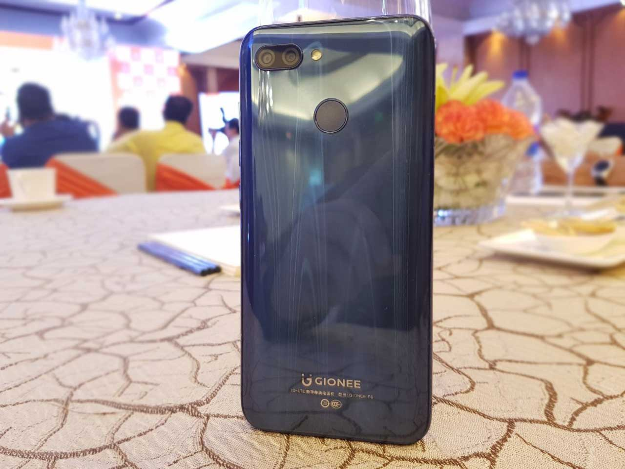 Gionee F205 and S11 Lite with Full View Display