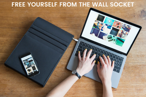 LAER A Laptop Sleeve To Charge All Your Devices