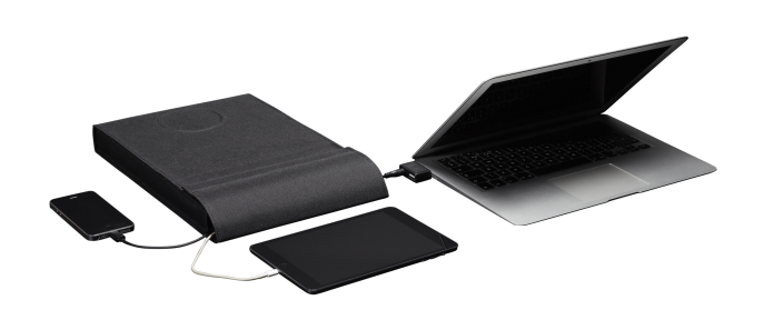 LAER: A Laptop Sleeve To Charge