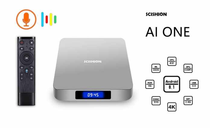 SCISHION AI ONE Android TV Box - Best Smart Android TV Box of 2018?