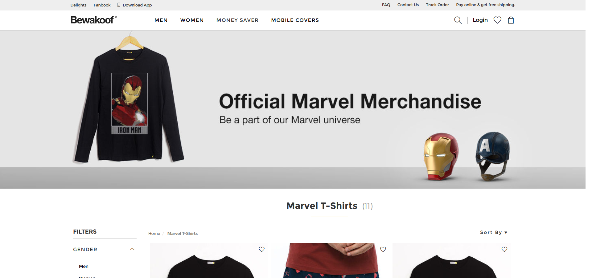 Buy Cool Marvel Avengers Products from these Websites in India