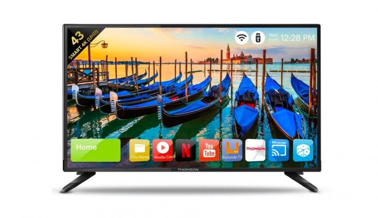 Thomson launches 3 Smart TV's in India