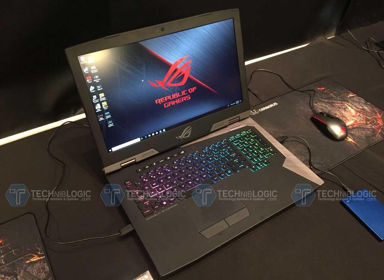 Asus G703 Techniblogic