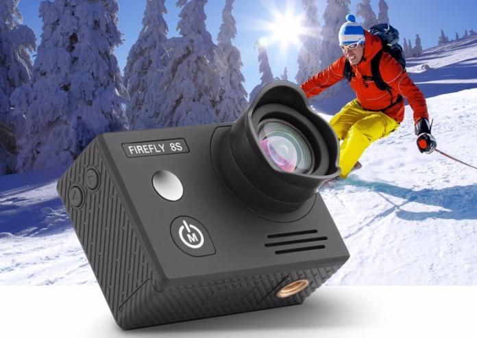 Hawkeye Firefly 8S - Best 4K WiFi Sports Camera