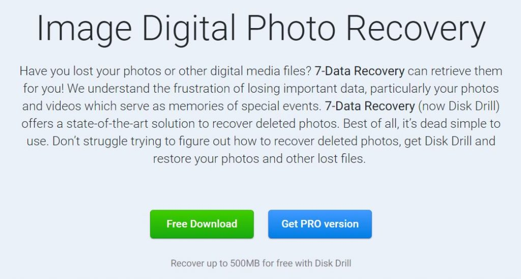 Install Image Digital Photo Recovery