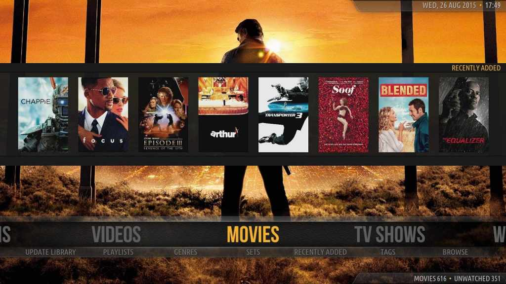 Amber - Kodi - Open Source Home Theater Software
