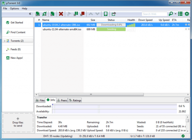 11 uTorrent Alternatives : Best Free Torrent Downloader 2020