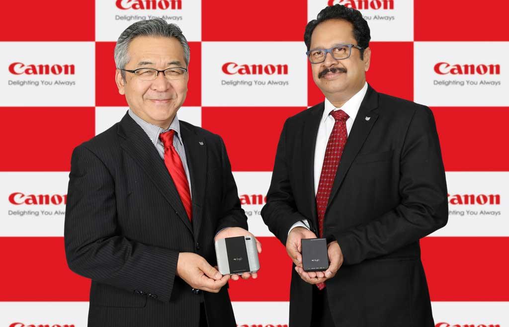 Canon-mini-Projector