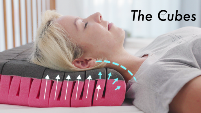 Cube is the Smart Pillow That You Ever Need